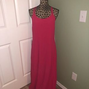 Forever 21 pink maxi dress NWT